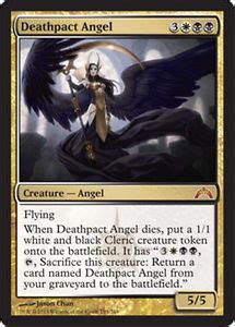 mtg white deck modern mtg white black orzhov deck magic the gathering deathpact