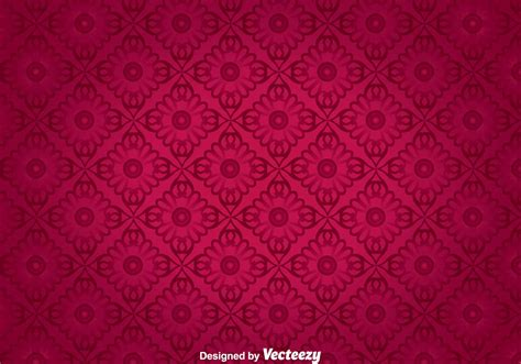 floral ornament wall tapestry vector