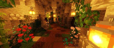 lush underground cave minecraft