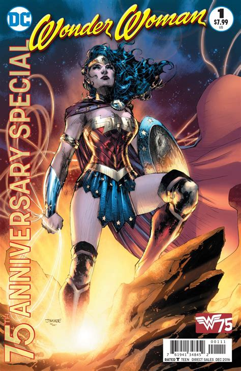 AUG160278 WONDER WOMAN 75TH ANNIVERSARY SPECIAL #1