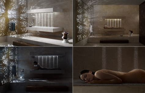 horizontal shower expands  showering experience