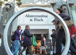 an abercrombie fitch co store in san francisco us the ...