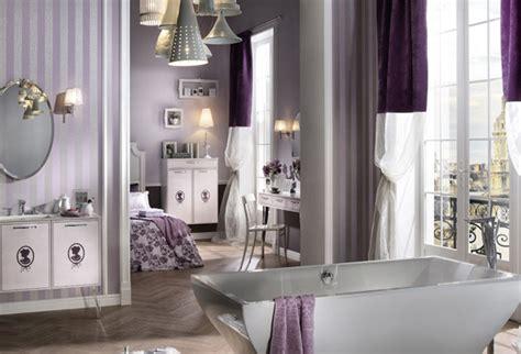 15 Majestically Pleasing Purple And Lavender Bathroom