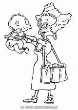 Rugrats Coloring Tommy Mom Pickles Drawing Printable Angelica Pickle Clipart Cartoon Colouring Drawings Characters Getdrawings Supercoloring Colorings Getcolorings Ratings Yet sketch template