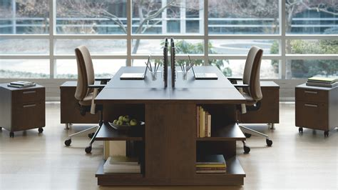 Office Desk Systems by Currency Contemporary Desk System Steelcase