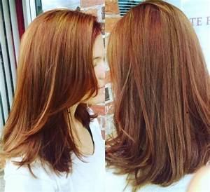 Hellbraun Mit Blonden Strähnchen Verschiedene Haarfarben Mit Rote