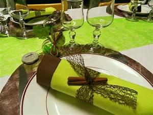 Deco Vert Anis : decoration mariage vert anis chocolat decormariagetrnds ~ Teatrodelosmanantiales.com Idées de Décoration