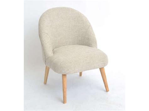 fauteuil mady coloris beige vente de tous les fauteuils