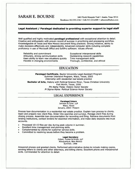 combination resume sle administrative student services