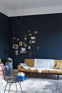 beautiful decoration salon bleu fonce ideas ridgewayng With couleur chambre de nuit
