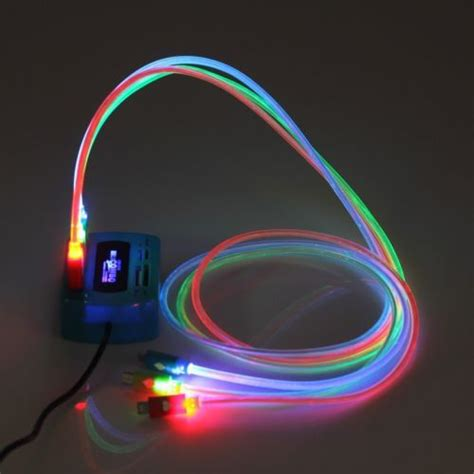 charger that lights up details about color sync led lights up micro usb charger