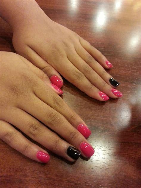daughters nexgen nails manicure pedicure autumn nails