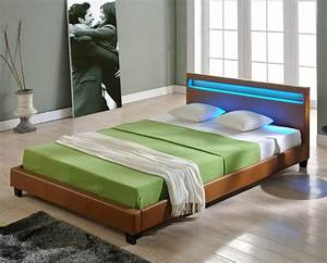 160 Bett Zu Zweit : led design polsterbett 140 160 180 200x200cm bett gestell ~ Sanjose-hotels-ca.com Haus und Dekorationen