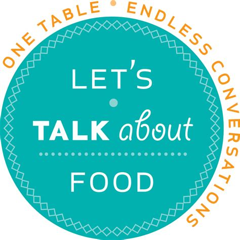 Let's Talk About Food Bdcwire