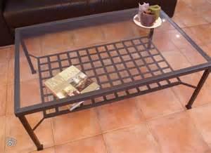 Table Basse Fer Forgé : troc echange table basse en fer forg sur france ~ Teatrodelosmanantiales.com Idées de Décoration