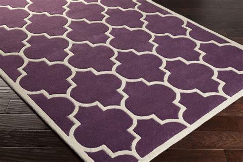 purple area rugs artistic weavers transit piper awhe2016 purple white area rug