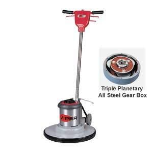 viper 20 inch floor buffer scrubber machine with pad holder cleaner solutions