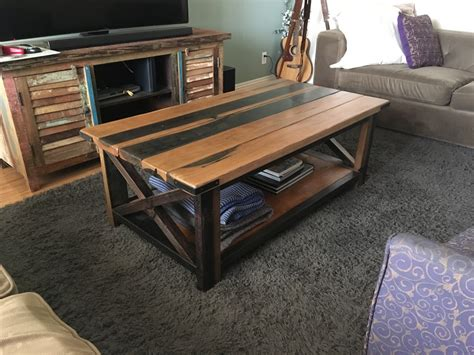 Diy Rustic Wooden Coffee Table Furniture Ideas