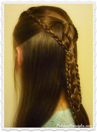 Braids Hairstyle Easy Gathered Tutorial Simple Hairstyles