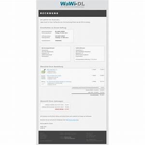 Layout Rechnung : jtl wawi email vorlagen html design 01 wawi dl 10 00 ~ Themetempest.com Abrechnung