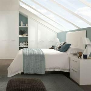 Zimmer Mit Schrägen : einrichtungsideen schlafzimmer mit dachschr ge ~ Lizthompson.info Haus und Dekorationen