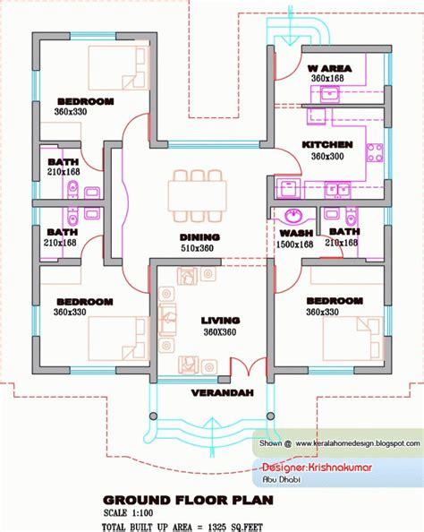 kerala house plans   kerala home design