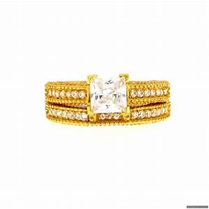 22ct indian gold wedding ring set gbp41346 rings With indian wedding ring
