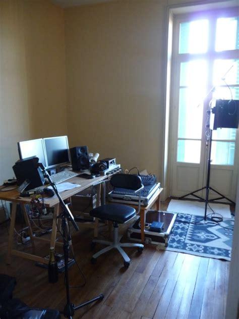 small home studio control room home theater