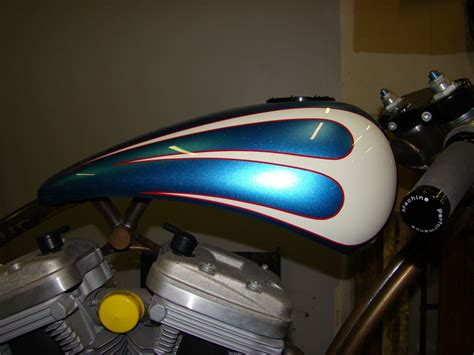 motorcycle paint design ideas cycle vintique back stabber buell bobber motorcycles bobber