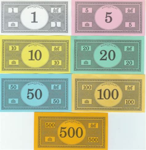 monopoly money templates  invitation templates