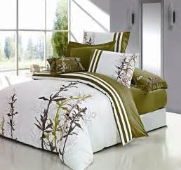 Bed Cover Sets by Spring Flowers 7 Piece Duvet Cover Set Green Home Apparel