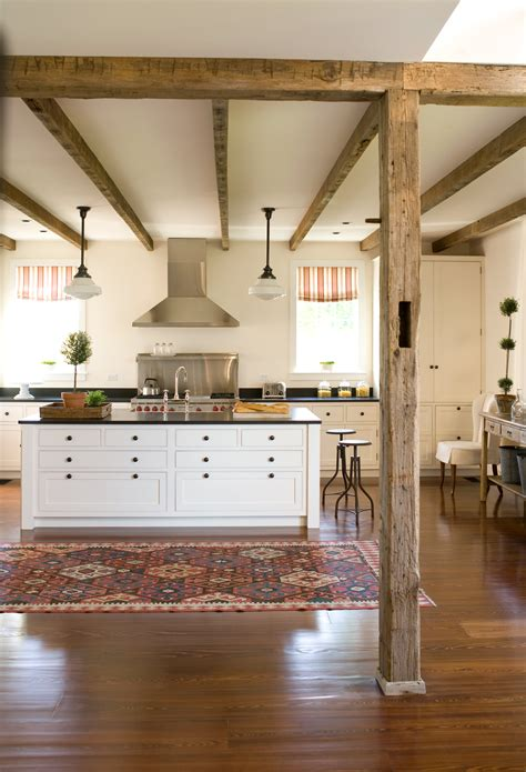 rustic chic kitchen is black the new white rustic chic White
