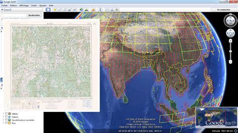 topographic maps  google earth