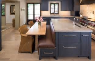 kitchen island bench ideas how a kitchen table with bench seating can totally complete your home