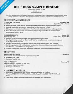 help desk resume resumecompanioncom resume samples With help doing a resume