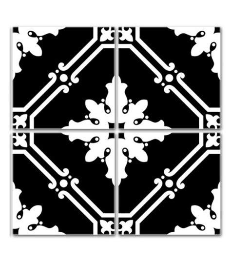 stickers pour faience cuisine stickers pour carrelage de cuisine ou salle e bain en noir