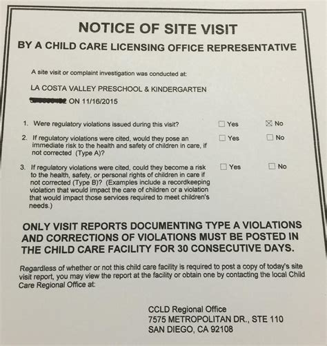 preschool license california our school the review news la costa valley 260
