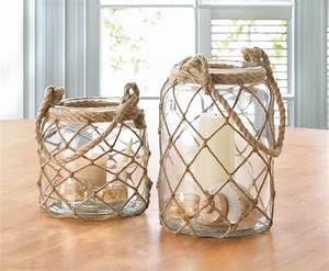Large fisherman net candle lantern wholesale at koehler for Best brand of paint for kitchen cabinets with hanging crystal candle holder