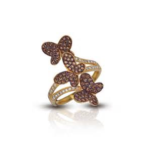 le vian chocolate engagement rings le vian 14k yellow gold butterfly chocolate ring jewelers
