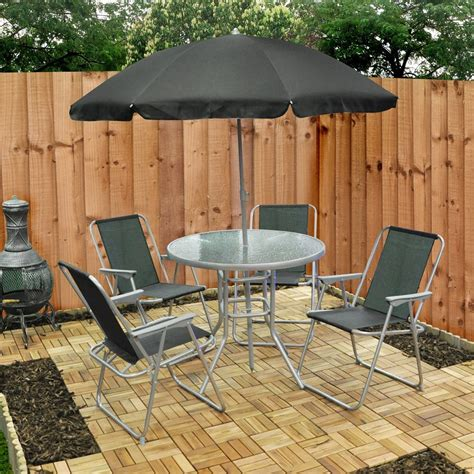 buy cheap folding dining table  chairs compare sheds