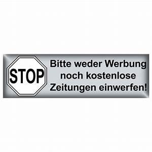 Briefkasten Keine Werbung : stop bitte keine werbung kostenlose zeitung einwerfen briefkasten aufkleber 65mm kaufen bei ~ Orissabook.com Haus und Dekorationen