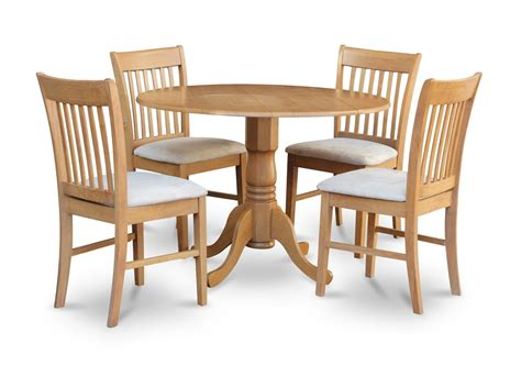 Dinette Table And Chairs by 5 Dublin Dinette Kitchen 42 Diameter Table
