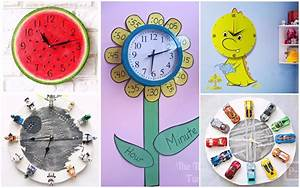 19, Most, Amazing, Wall, Clock, Designs, To, Adorn, Your, Kids, Room