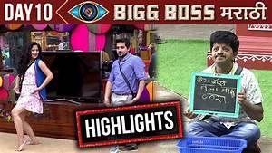 Bigg Boss Marathi Highlights Day10 | New Captain's Task ...