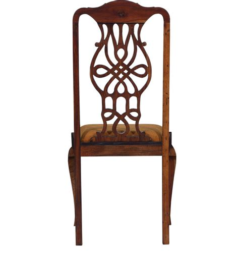 buy priscilla dining chair in honey oak finish by