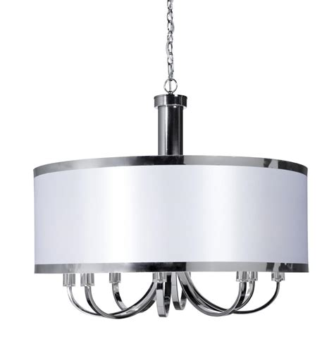 drum lights for dining room white drum shade chandelier