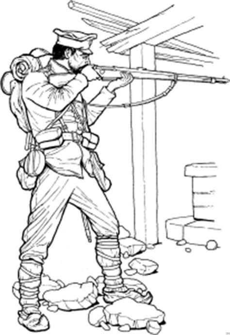 soldat nimmt ziel ausmalbild malvorlage schlachten