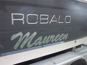 raised chrome boat name at domedletteringcom With chaparral chrome lettering