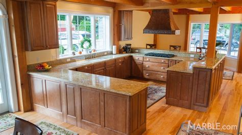 kitchen countertop colors ideas amba gold granite kitchen countertops 4307