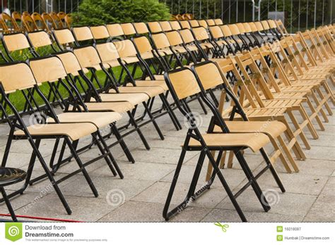 before outdoor concert royalty free stock photography